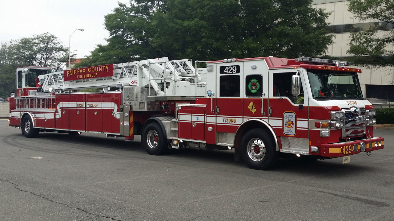 Fairfax County Fire and Rescue Department Truck 429