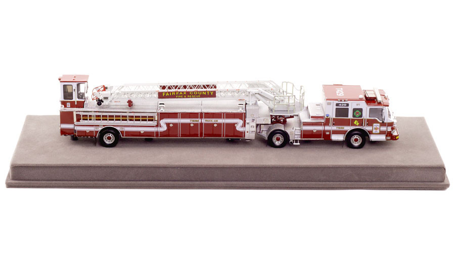 1:50 Scale Fairfax County Fire and Rescue Department Truck 429 Replica