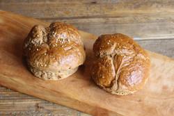 Vegan Multi-Grain Panini Rolls (6 pieces)