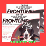 Frontline Plus Flea & Tick for Dogs 89 to 132 lbs (12 Months)