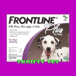 Frontline Plus Flea & Tick for Dogs 45 to 88 lbs (3 Months)
