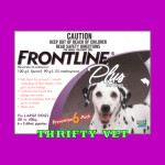 Frontline Plus Flea & Tick for Dogs 45 to 88 lbs (6 Months)