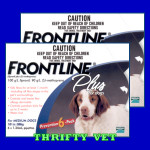 Frontline Plus Flea & Tick for Dogs 23 to 44 lbs (12 Months)
