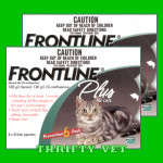 Frontline Plus Flea & Tick for Cats Of Any Weight (12 Months)