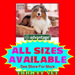 Advantage Flea Control for Dogs 21 to 55 lbs (4 Months)