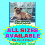 Advantage Flea Control for Dogs 11 to 20 lbs (4 Months)