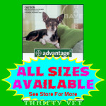 Advantage Flea Control for Dogs up to 10 lbs (4 Months)