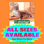 Advantage Flea Control for Cats up to 9 lbs (4 Months)