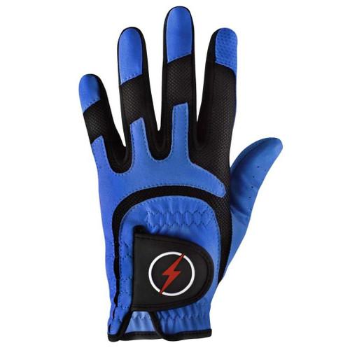 PowerBilt Men's One-Fit Golf Glove - Blue