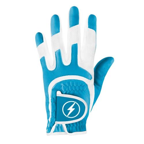 PowerBilt Women's One-Fit Golf Glove - Cyan