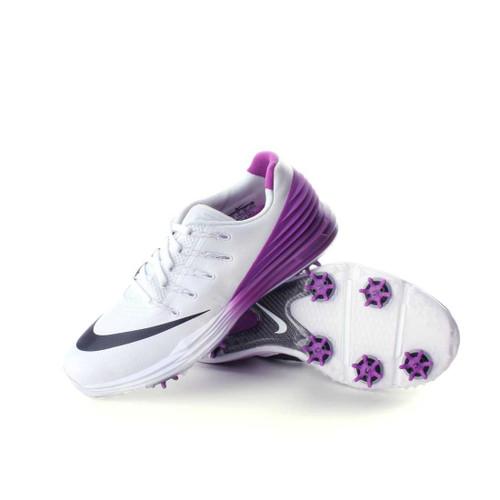 Nike Lunar Control 4 Women's Golf Shoe White/Cosmic Purple