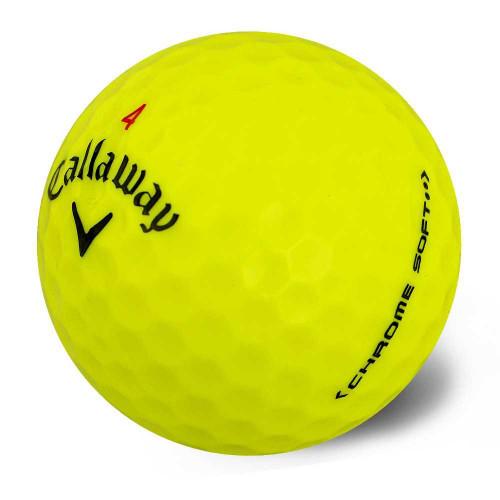 Callaway Golf 2016 Chrome Soft Golf Balls (1 DZ) Yellow
