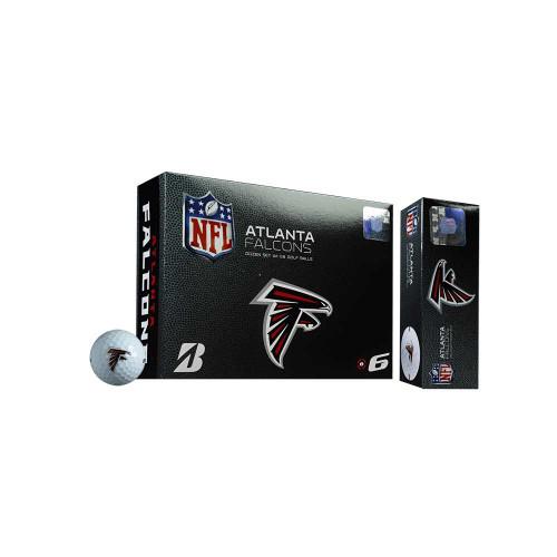Bridgestone NFL e6 Golf Balls - Atlanta Falcons