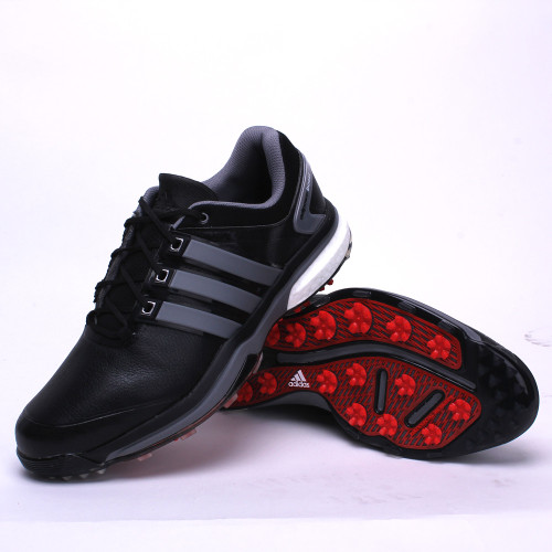 adidas CLOSEOUT adipower Boost Men's Golf Shoes - Black/Iron