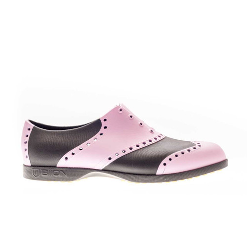 Biion Classic Unisex Golf Shoes - Black/Pink