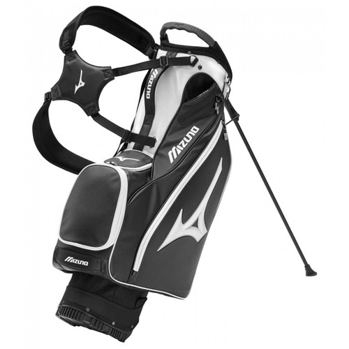 Mizuno Pro 14-Way Stand Bag - Black/White