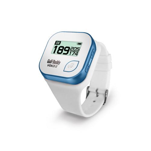 GolfBuddy Voice2 GPS Wristband (White)