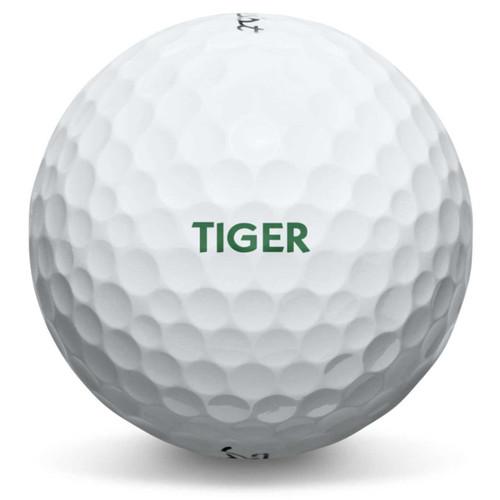 Custom message on pro V1 and Pro V1x golf balls