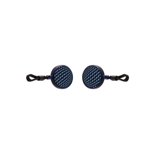 EyzGear Sunglasses Hat Clips - Navy Golf Ball