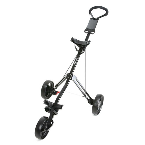 Orlimar Sport Trakker Two/Three Wheel Golf Push Cart - Black