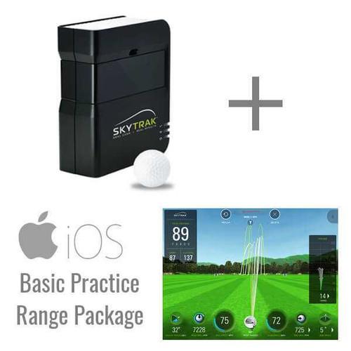 SkyTrak Golf Launch Monitor + Basic Range Package