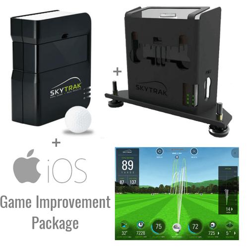 SkyTrak Golf Launch Monitor + Metal Case + Game Improvement Plan