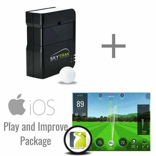 SkyTrak Golf Launch Monitor + Play and Improve Package