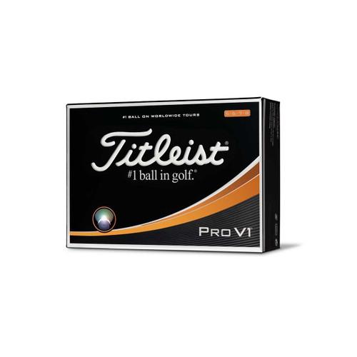 Titleist 2017 Pro V1 High Numbers Golf Balls - 1 Dozen