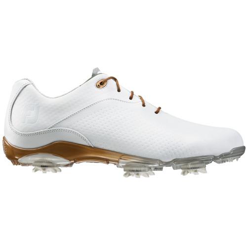 FootJoy CLOSEOUT D.N.A. Women's Golf Shoes - White/Bronze