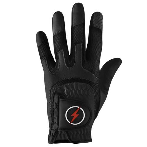 PowerBilt Junior One-Fit Golf Glove - Black