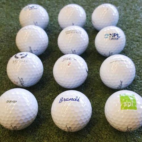 Titleist Logo Overrun Prior Generation Pro V1x Golf Balls - 1 Dozen