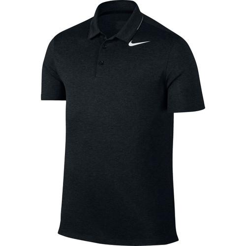 Nike Breathe Men's Golf Polo - Black