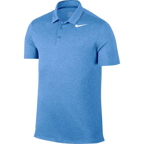 Nike Breathe Men's Golf Polo - Light Blue