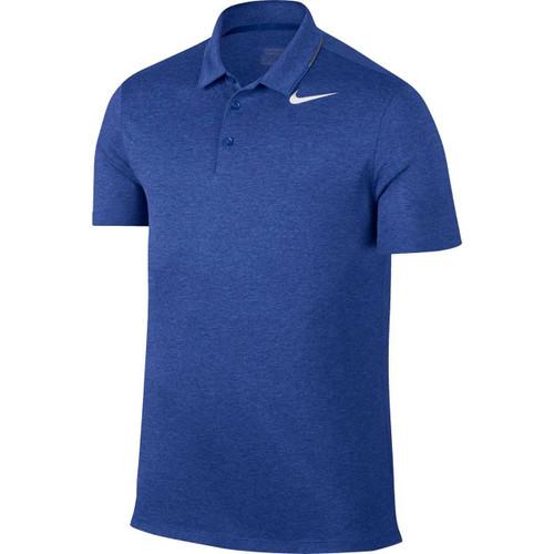 Nike Breathe Men's Golf Polo - Blue