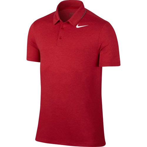 Nike Breathe Men's Golf Polo - Red