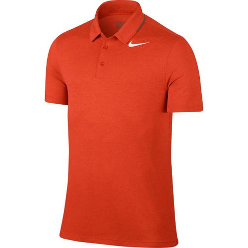 Nike Breathe Men's Golf Polo - Orange