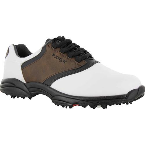 FootJoy CLOSEOUT GreenJoys Men's Golf Shoes - Brown/Black/White