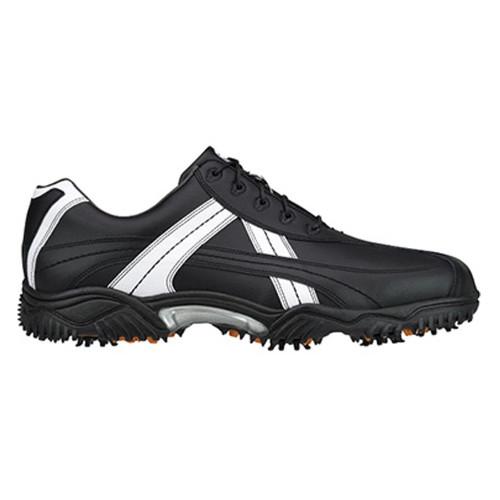 FootJoy CLOSEOUT Contour Series Contrast Men's Golf Shoes - Black/White