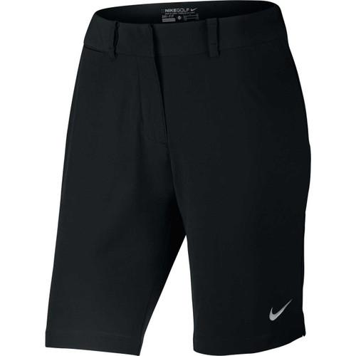 Nike Bermuda Solid Women's Golf Shorts - Black