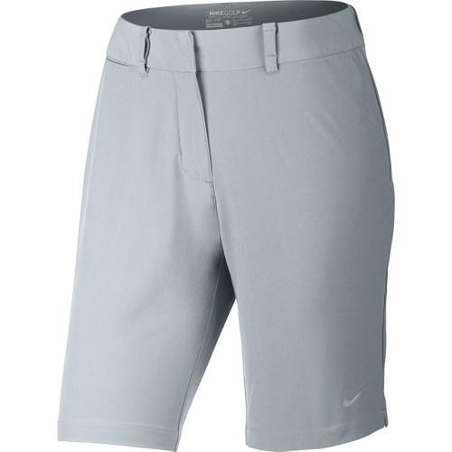 Nike Bermuda Solid Women's Golf Shorts - Wolf Grey