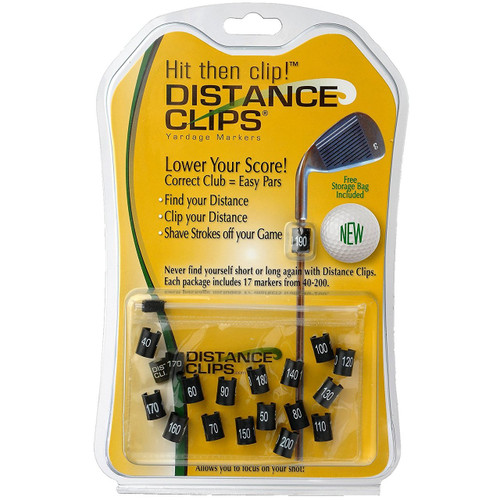 Distance Clips Golf Club Yardage Markers
