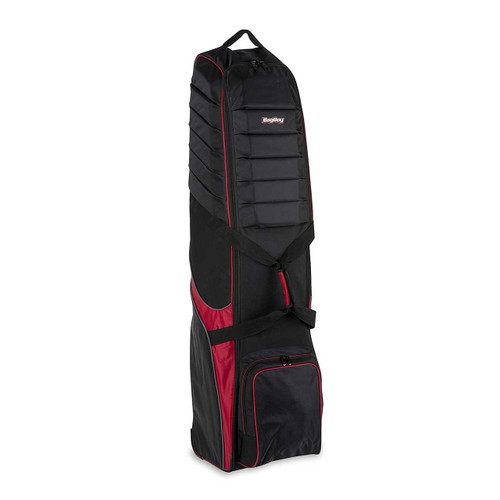 Bag Boy T-750 Wheeled Golf Bag Travel Cover - Black/Red