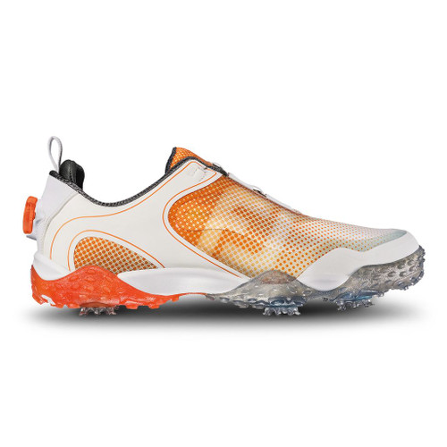 FootJoy BOA Freestyle Men's Golf Shoe (Previous Season) - White/Melon