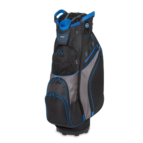 Bag Boy 2017 Chiller Golf Cart Bag - Black/Charcoal/Royal