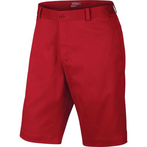 Nike Golf Flat Front Short (Ocean Fog) 38 - University Red