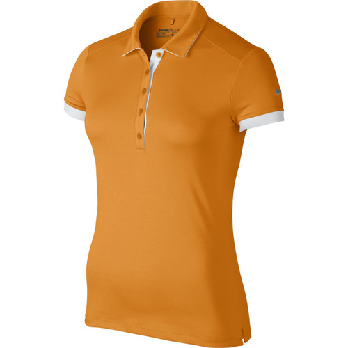 Nike Golf Women's Victory Colorblock Polo - Bright Ceramic/White/Flint Grey