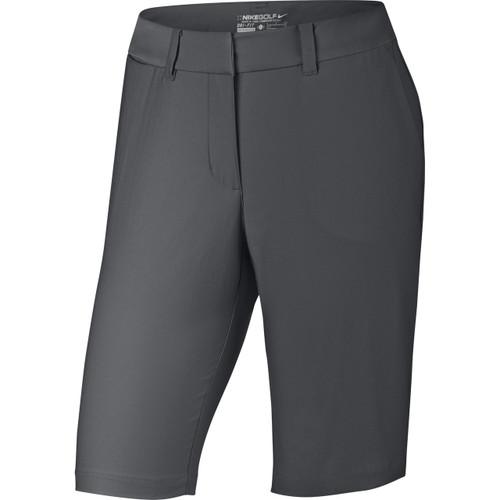 Nike Golf Women's Bermuda Tournament Shorts - Dark Grey