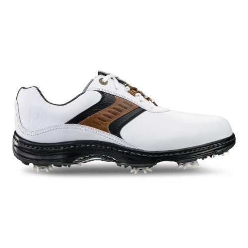 FootJoy Contour Series Men's Golf Shoes - White/Toupe/Black [Previous Season]