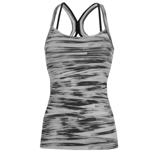 Puma Women's WT All Eyes On Me Tank Top - Black/White