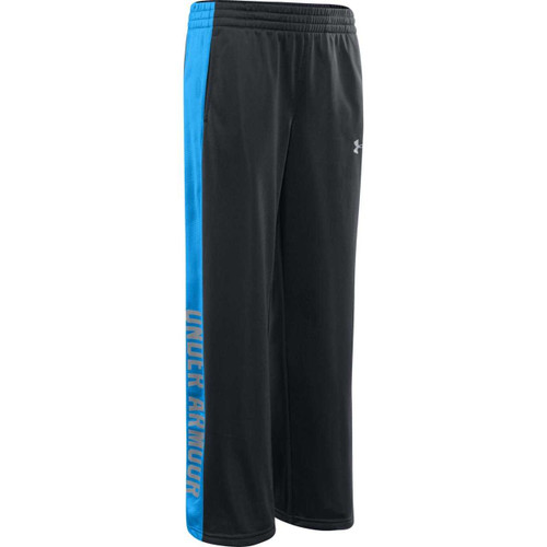 Under Armour Boys Brawler Knit Pant - Anthracite/Electric Blue/Steel